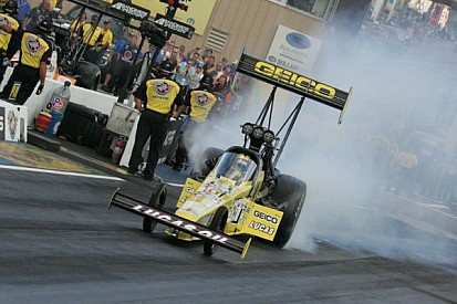 Perfect time for Top Fuel driver Lucas as series head to BIR
