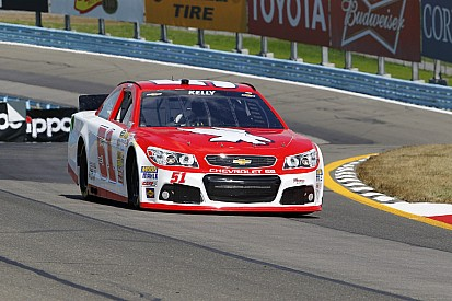 Kelly qualifies best of non regulars in Sprint Cup debut at Watkins Glen
