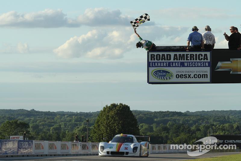 Daytona Prototype win for No. 8 Starworks BMW Riley at Road America
