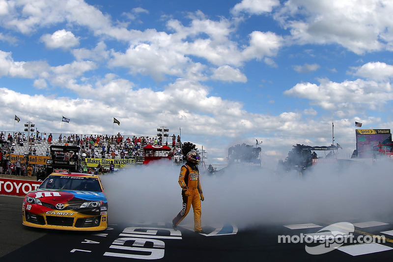 Kyle Busch succeeds at The Glen in dramatic finish