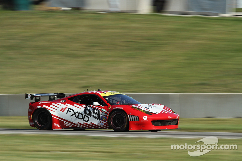 AIM Autosport Team FXDD Racing runs well and ends seventh at Road America