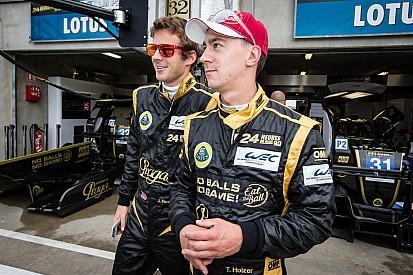 Lotus Praga LMP2 Inside: Thomas Holzer