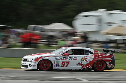 Stevenson Motorsports before race at Kansas Speedway
