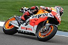 Bridgestone: Marquez marches to the top of the timesheets in Friday practice at Indy