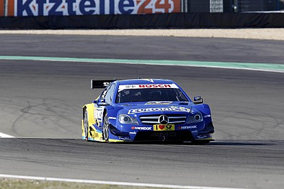 Gary Paffett in grid position five at Nürburgring
