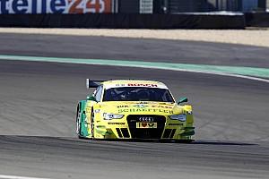 DTM Race report Audi driver Rockenfeller keeps cool at Nürburgring