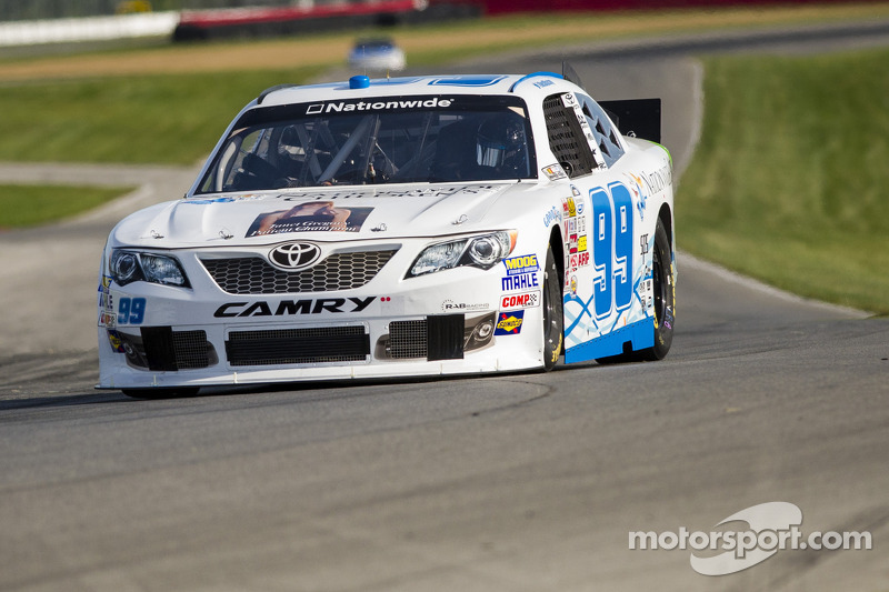 Alex Bowman finishes 11th in wild closing laps at Mid-Ohio