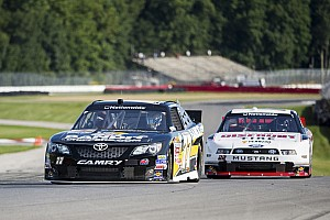 NASCAR XFINITY Race report Kligerman's top-5 run gets knocked off course at Mid-Ohio 200