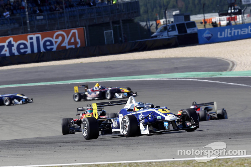 King celebrates 'best weekend so far' at the Nürburgring as he joins F3 elite
