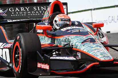 Briscoe finishes ninth during Friday practice at Sonoma Raceway
