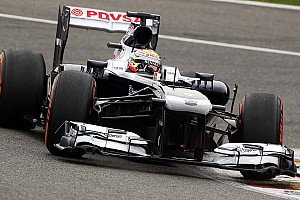 Formula 1 Qualifying report Maldonado qualified 17th with Bottas 20th for tomorrows Belgian GP