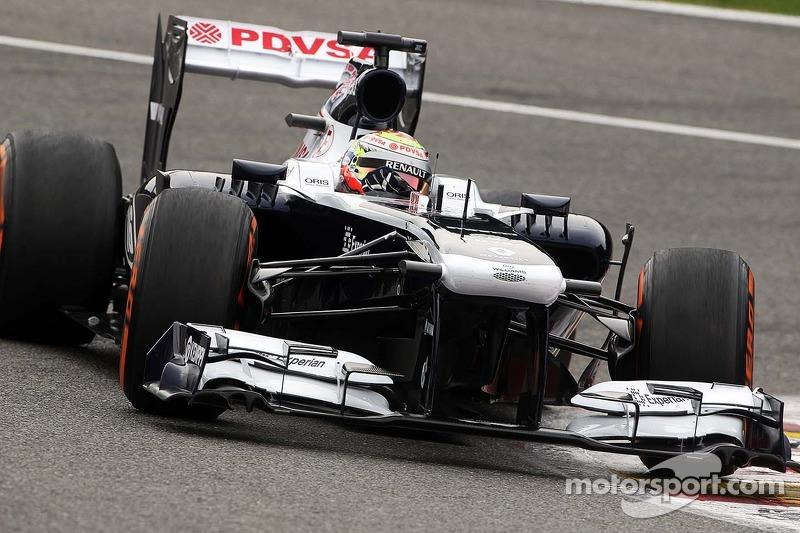 Maldonado qualified 17th with Bottas 20th for tomorrows Belgian GP