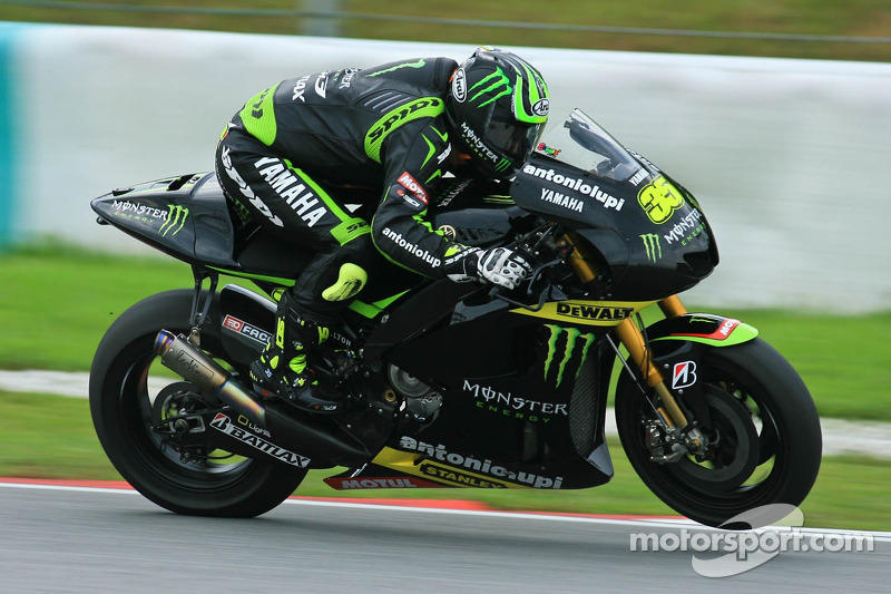 Record lap fires Crutchlow to stunning pole position in Brno