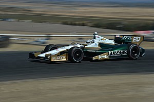 IndyCar Qualifying report Carpenter and ECR team draw tough qualifying round Saturday at Sonoma