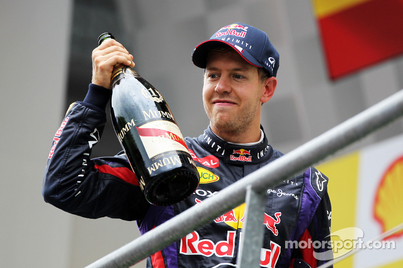 Red Bull's Vettel was dominant at Spa