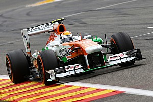 Formula 1 Race report Mixed fortunes for Sahara Force India on Belgian GP