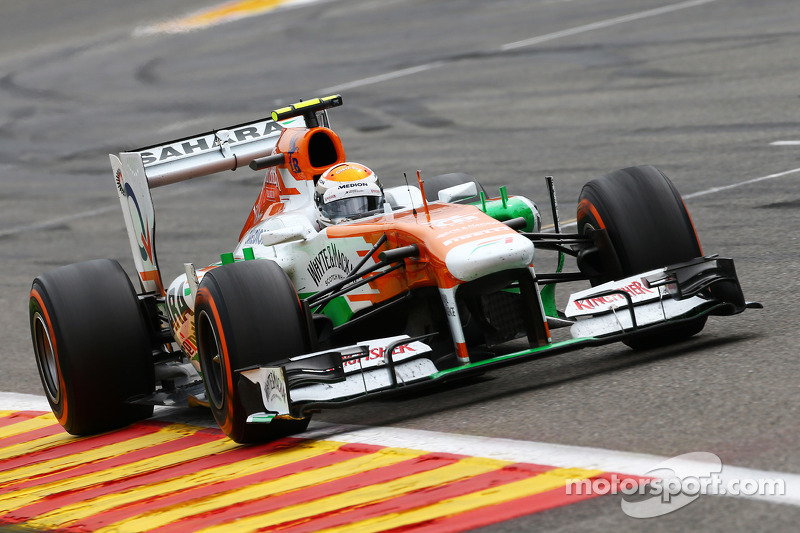 Mixed fortunes for Sahara Force India on Belgian GP