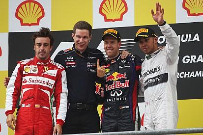 Pirelli: Vettel dominates Belgian GP prix with a two-stop strategy