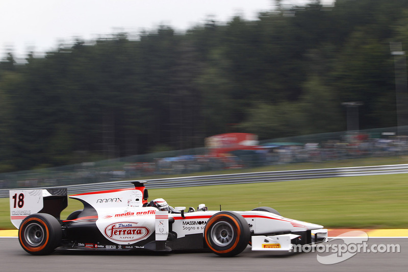 Tyres crucial in the Coletti Sprint Race at Spa