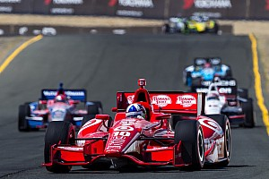 IndyCar Race report Franchitti leads Team Target at Sonoma with Podium finish