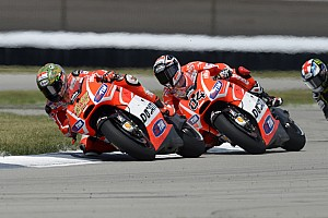 MotoGP Practice report Dovizioso, Hayden seventh and tenth in Silverstone free practice