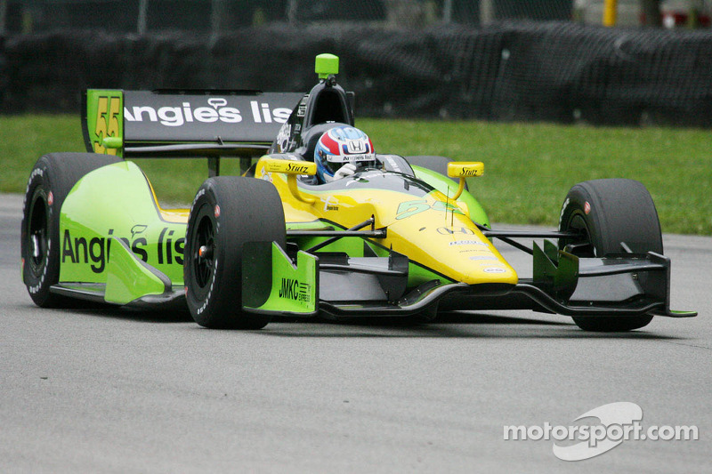 Vautier paces opening practice for Grand Prix of Baltimore