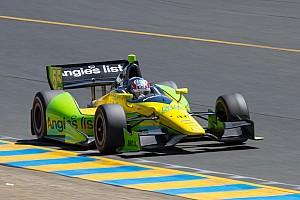 IndyCar Practice report Rookie Vautier leads field Friday in Baltimore