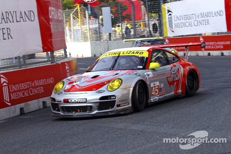 2nd and 7th in qualifying for Flying Lizard at the 2013 Baltimore Grand Prix