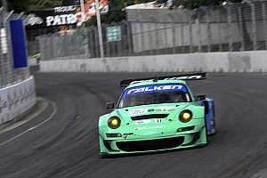 ALMS Qualifying report Long and Henzler top Porsche GT qualifiers in Baltimore