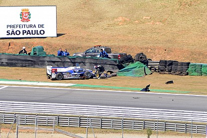 Brazil race ends early for Toyota Racing
