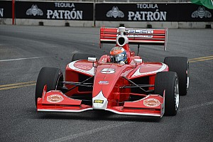 Indy Lights Race report Dempsey fights for fourth place finish in Baltimore - Video