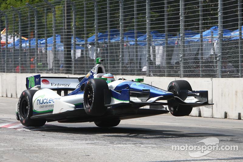 KV Racing Technology's Simona de Silvestro finishes fifth at Grand Prix of Baltimore