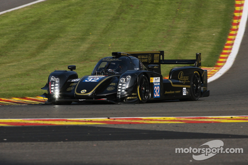 Lotus Praga LMP2 did not fare well at the 6 Hours of Sao Paulo