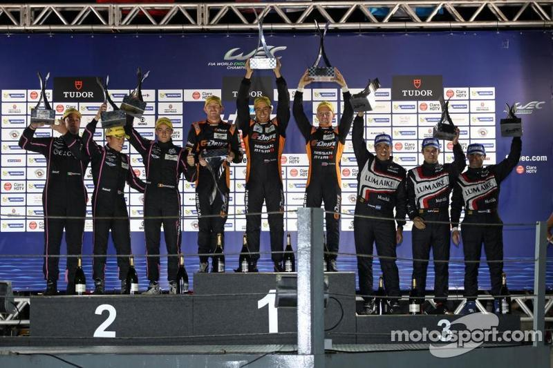 Perfect victory for G-Drive Racing and the Oreca 03 in Brazil