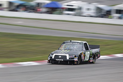 Coulter gets off course in inaugural truck series event in Canada