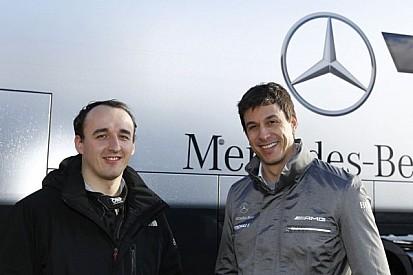Kubica admits multiple days in Mercedes simulator