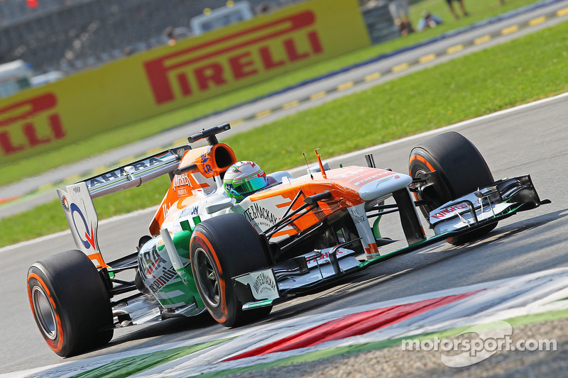 Sahara Force India not on the pace on qualifying for Italian GP