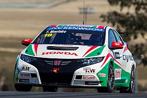 WTCC Qualifying report Tiago Monteiro secures excellent third place on US grid!