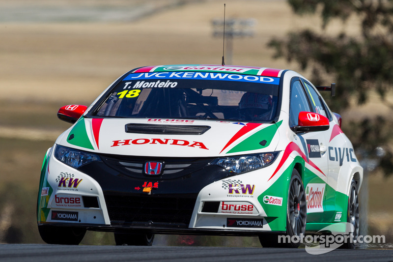 Tiago Monteiro secures excellent third place on US grid!