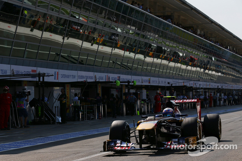 Ricciardo finished 7th on Toro Rosso home GP at Monza