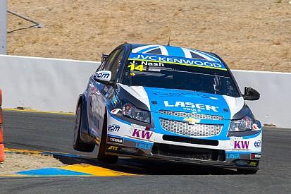 Nash scored an Independent podium finish at Sonoma