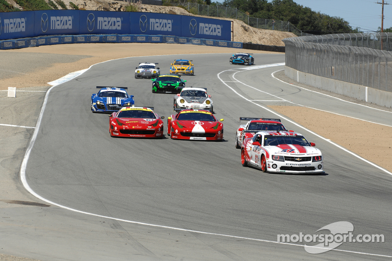 Stevenson Motorsports takes second place on CTSCC race at Laguna Seca