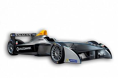 Formula E unveils new Spark-Renault SRT_01E at Frankfurt Motor Show