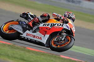 MotoGP Practice report Bridgestone: Marquez on the mark in Misano Friday practice