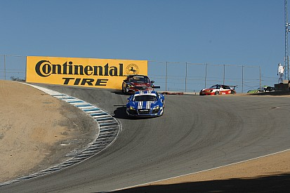 Lack of luck in both series for B+ Racing drivers at Laguna Seca