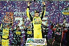 Kyle Busch holds off Keselowski to win at Chicagoland