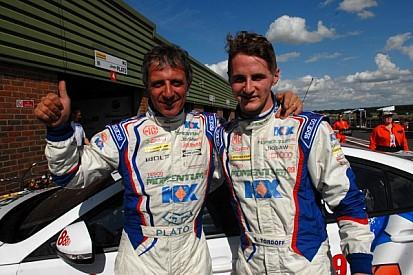 Plato leads MG 1-2 in qualifying at Rockingham
