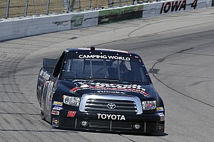 NASCAR Truck Race report Bad luck for Joey Coulter at Chicagoland 225