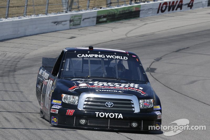 Bad luck for Joey Coulter at Chicagoland 225