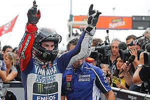 MotoGP Race report Masterful Lorenzo claims stunning victory in Misano